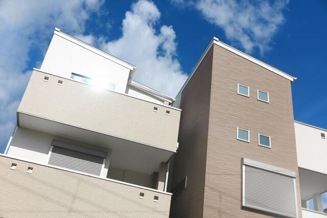 2階建ての一軒家