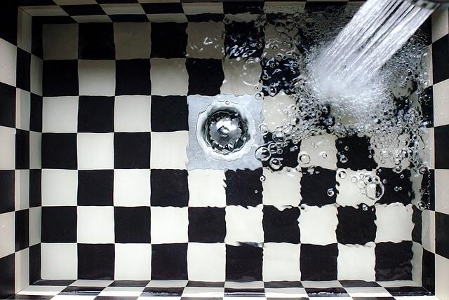 シャワータイプの水道