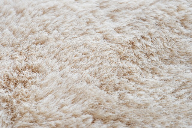 ふわふわのカーペット