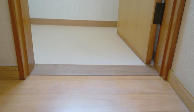 段差をなくした床