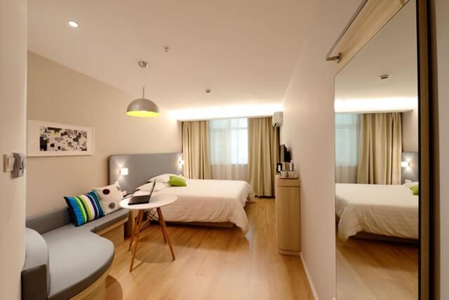 床暖房の付いた部屋