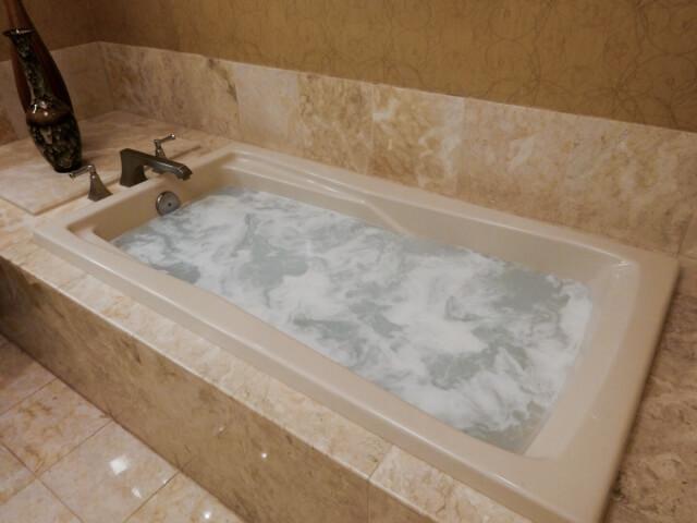 石材を使ったお風呂