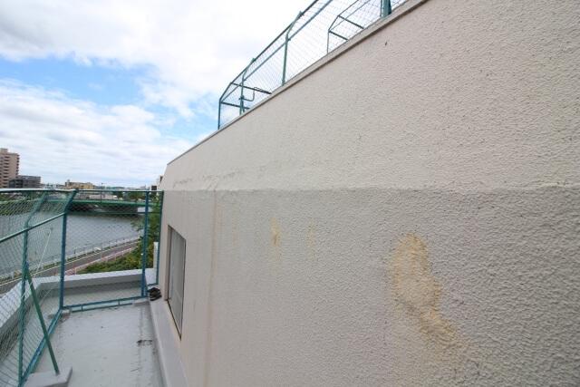 マンションの外壁