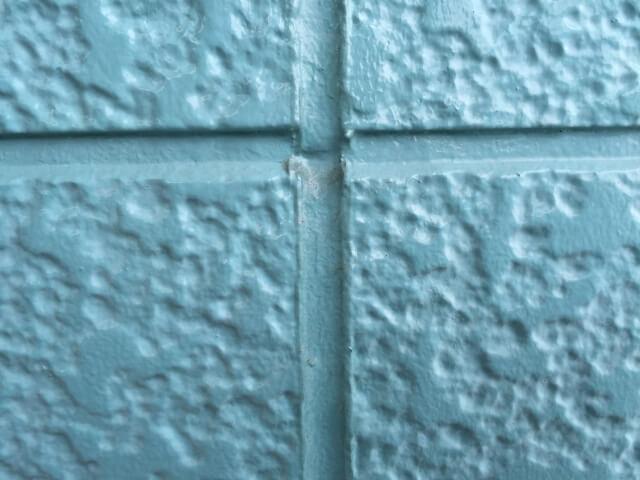 ALC素材の壁